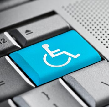 Handicap Keyboard ADA website