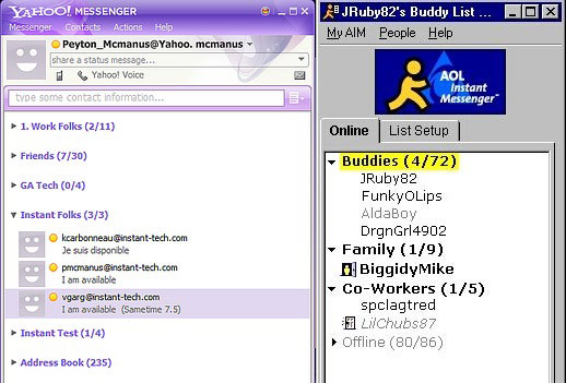 AIM and Yahoo Messenger, Buddy List and Friend List, Future Snapchat Groups
