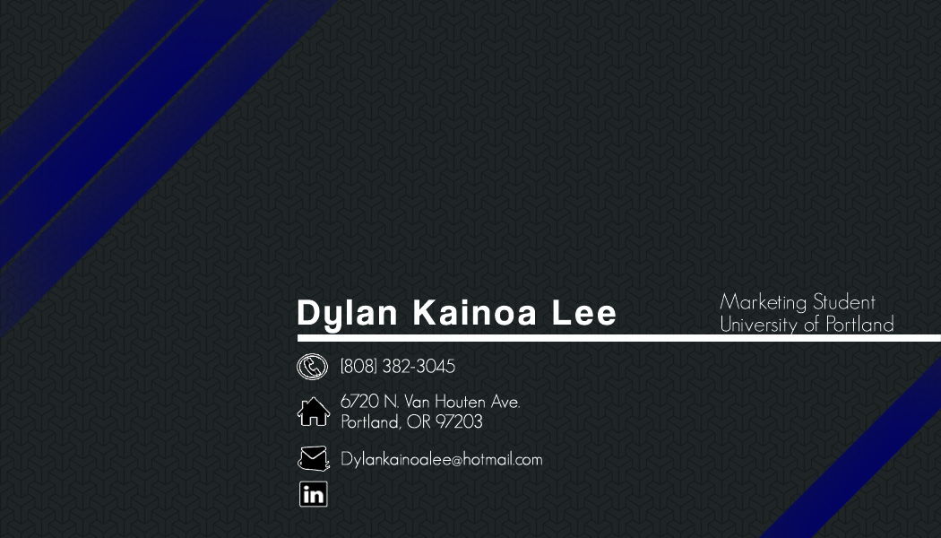 Business Card Design - Portland Oregon - Website Design + Wordpress