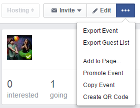 Facebook Event Promotion Options 2016