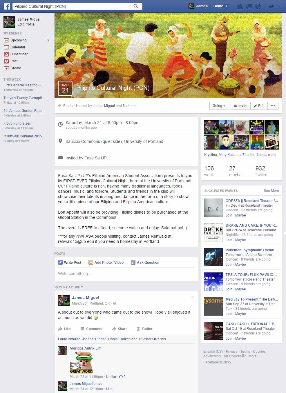 how to add a pdf to facebook event