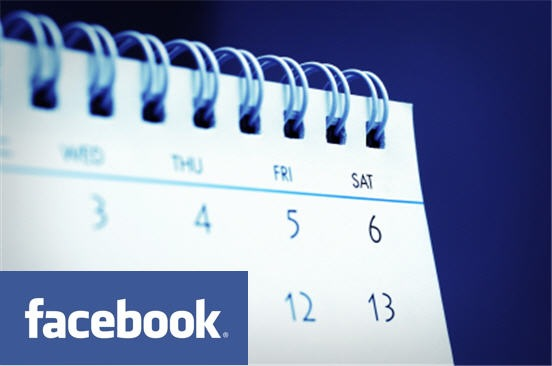 Facebook Logo Events Calendar
