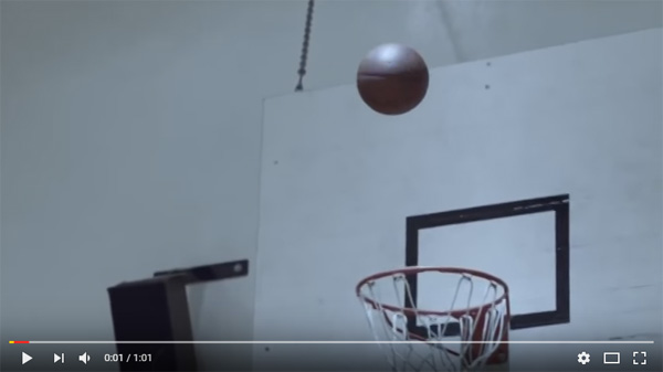 Creative Guinness basketball TV commercial