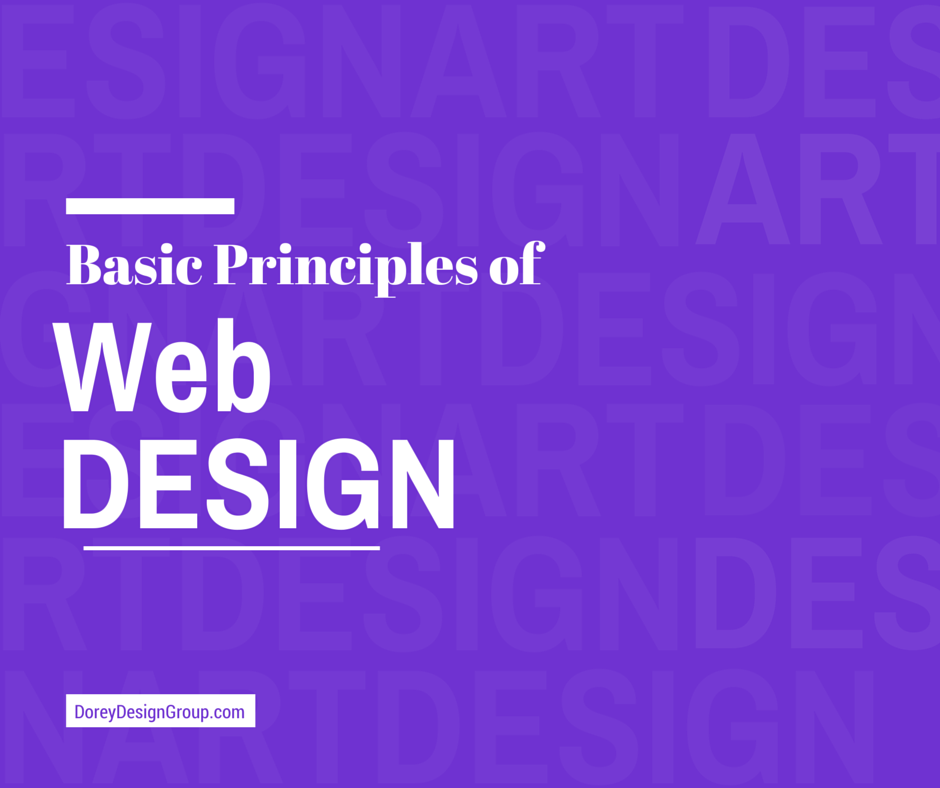 Basic Principles of Web Design