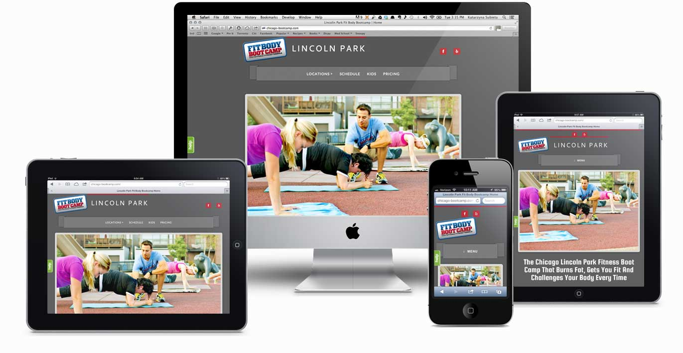 What is responsive web design - Responsive Web Design Devices Preview