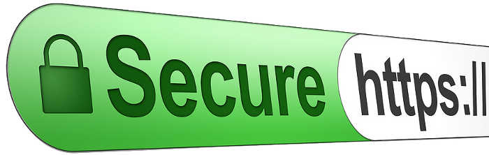 Secure HTTPS address bar