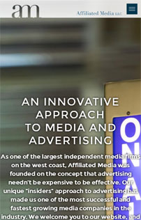 Affiliated Media, WordPress and Drupal Website Development in Portland, OR