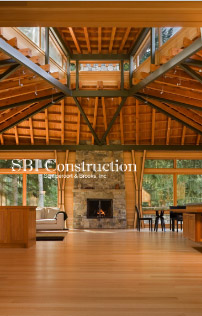 SBI Construction, WordPress Site Example, Mobile