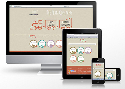 Responsive Web Design, Multiple Devices Previewed, Desktop, Tablet, Smartphone