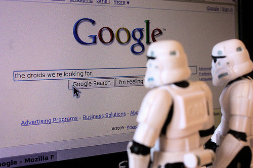 SEO in Web Development, Stormtroopers Looking for Droids on Google