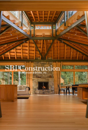 SBI Construction, WordPress Website Project, Tablet