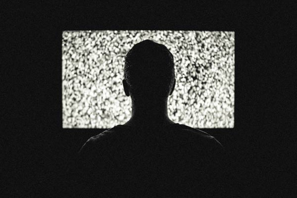 Video Advertising Success Explained, TV static white noise